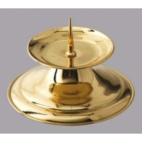 Brass candlestick - 9 cm (2)