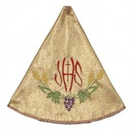 Ciborium Veil - gold color, embroidered (1)