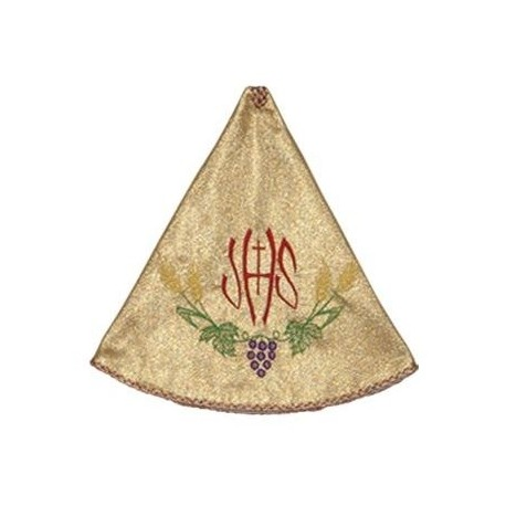 Ciborium Veil - gold color, embroidered