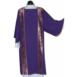 Dalmatic - color purple (3)