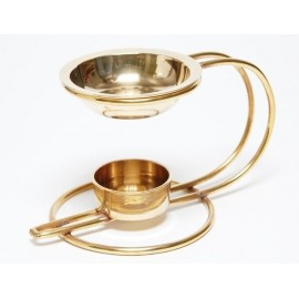 Incense Burners gold (2)