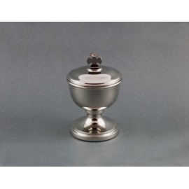 Lavabo Set - brass, nickel-plated - 15 cm