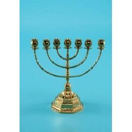 Brass menorah - 27 cm