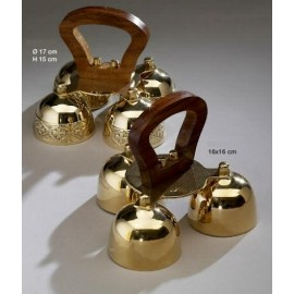 Altar Bells - wooden handle
