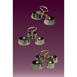 Altar Bells - polished brass - 3 models
