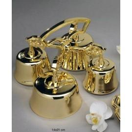 Altar Bells - polished brass - 4 tons (2)