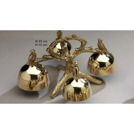Altar Bells - polished brass - 4 tons (3)