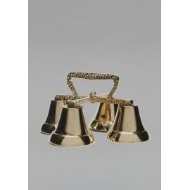 Altar Bells - polished brass - 4 tons (4)