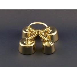 Altar Bells - polished brass - 4 tons (5)