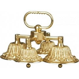 Quadruple altar bells with two sounds